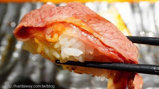 牛小排壽司
