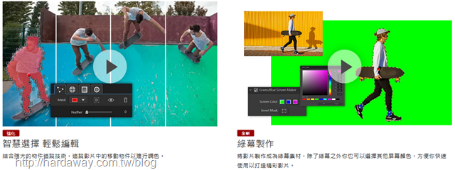 ColorDirector 365新功能