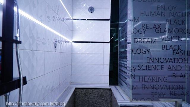 IF音樂商務旅館房間浴室