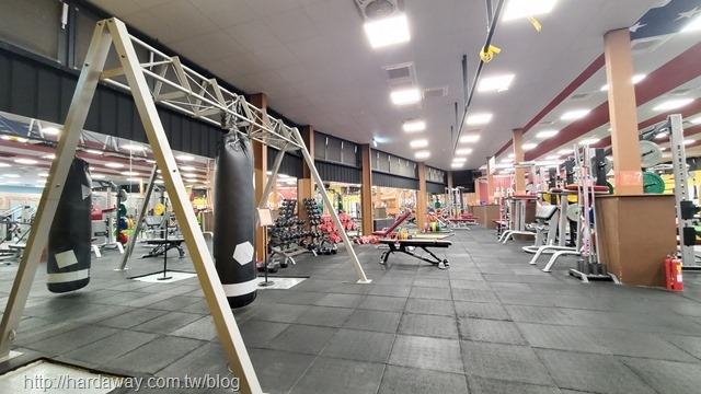 紐約健身太平館健身區