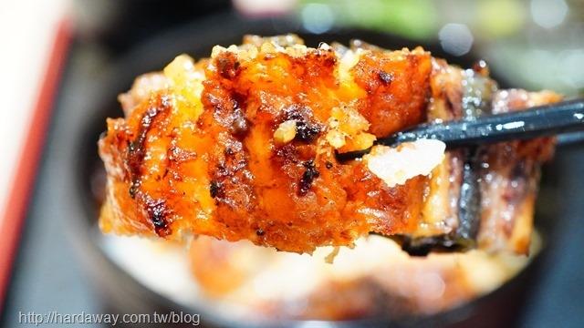 三河中川屋鰻魚飯味道