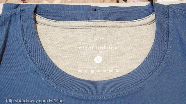 高織密羅紋領口