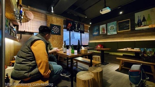 獨樂清酒食堂用餐空間