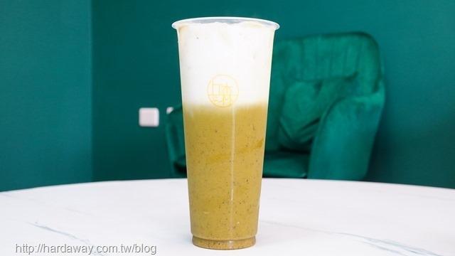 丘森茶室堅果鮮奶綠