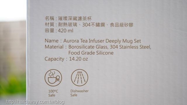 宜龍璀璨深藏濾茶杯材質