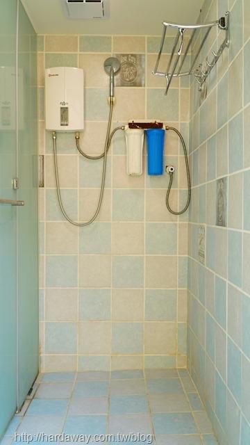 瑞穗棕櫚湖民宿小木屋浴室