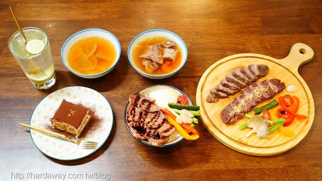 硬派主廚的軟嫩料理餐點