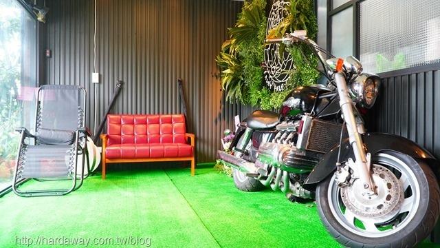 童話海景咖啡廳內部空間