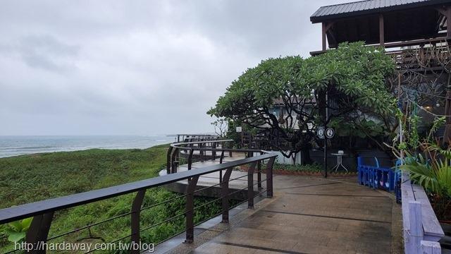 淺水灣咖啡廳看海景