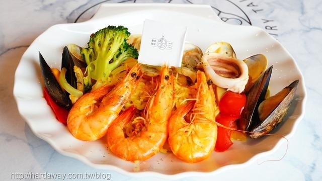 西班牙總匯海鮮燉飯
