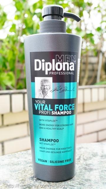 德國Diplona專業級男士活力洗髮乳