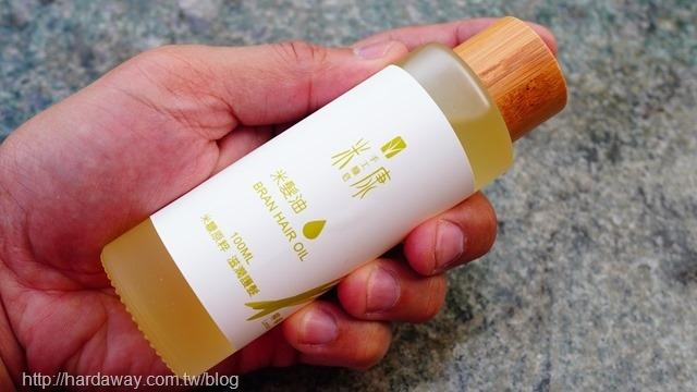 手工糠皂米髮油