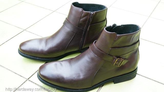 簡單保養皮鞋
