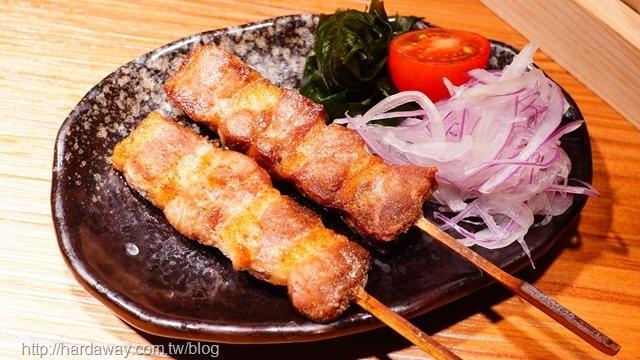 饕酒窩居酒屋鹽饕製鴨肉串