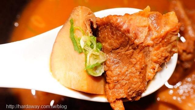 味噌燉牛筋