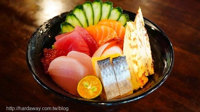 築也日本料理生魚片丼飯