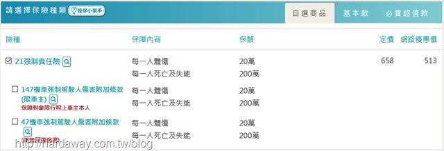 新安東京海上產險重型機車強制險