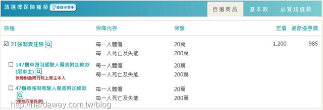 新安東京海上產險電動機車強制險