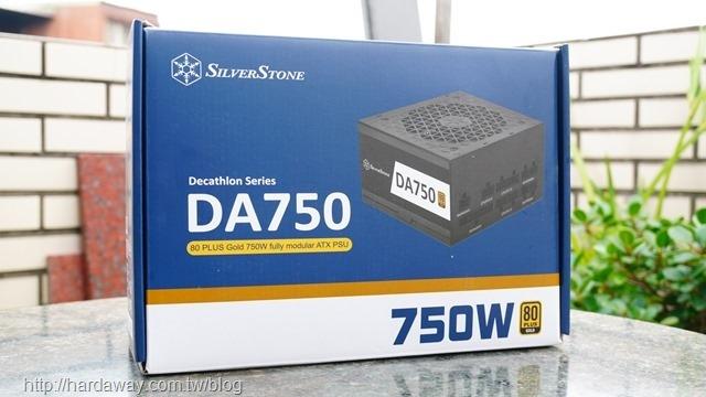 銀欣DA750金牌認證全模組ATX電源