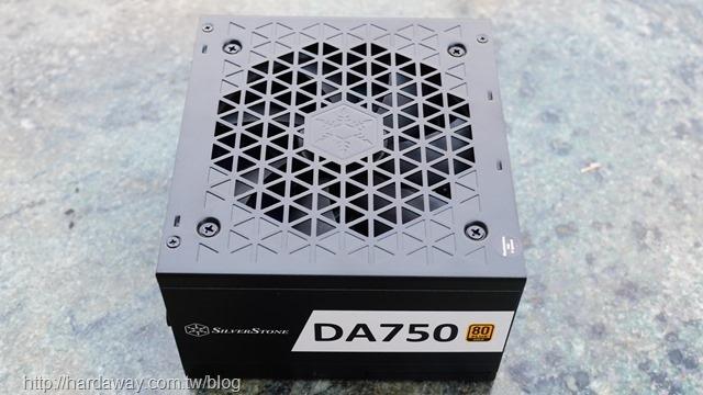 銀欣DA750 Gold 750W 80 PLUS金牌認證全模組ATX電源