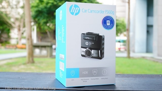 HP HDR GPS測速行車記錄器f560g