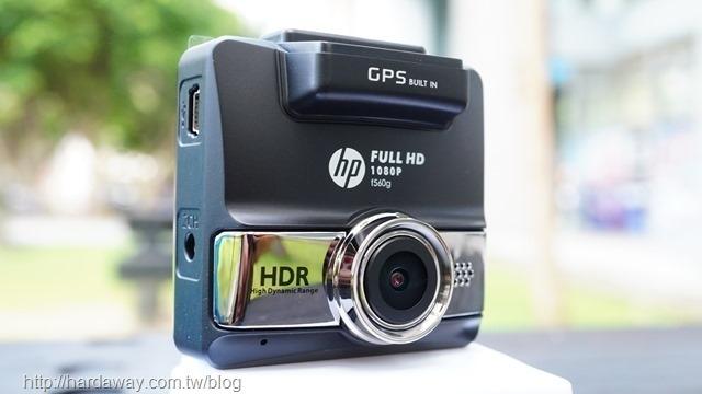 HP f560g行車記錄器