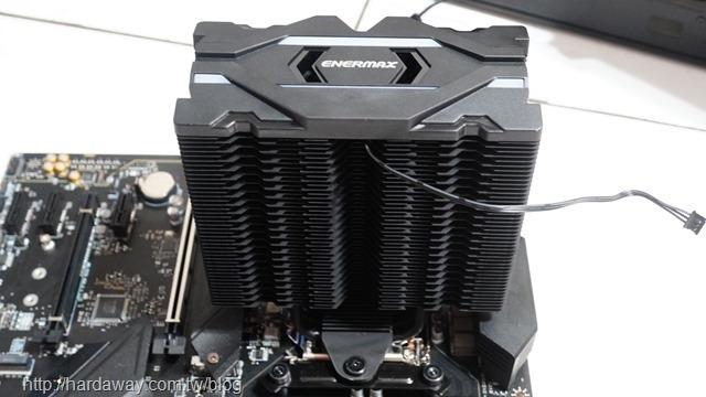 安耐美ENERMAX ETS-F40空冷散熱器