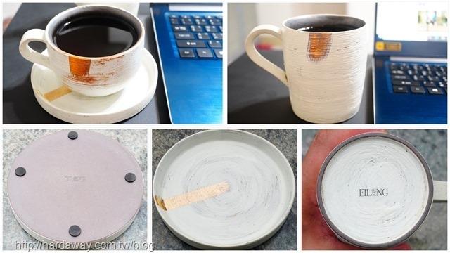 手作咖啡杯碟