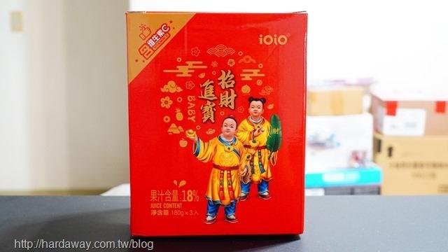 ioio食在愛我招財進寶綜合蒟蒻3入禮盒
