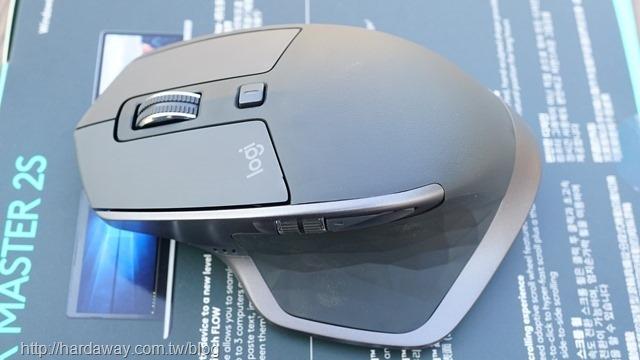 羅技MX MASTER 2S無線滑鼠