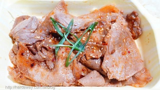 豪華醬燒秘味噌梅花豬便當