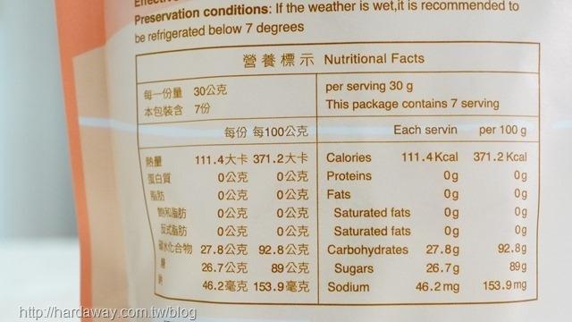 糖鼎黑糖冰糖菊花營養成分