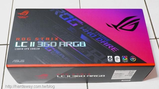 ASUS ROG STRIX LC II 360 ARGB CPU水冷散熱器