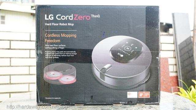 LG CordZero ThinQ M9銳眼雙旋拖地機器人