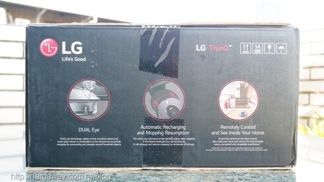 LG拖地機器人
