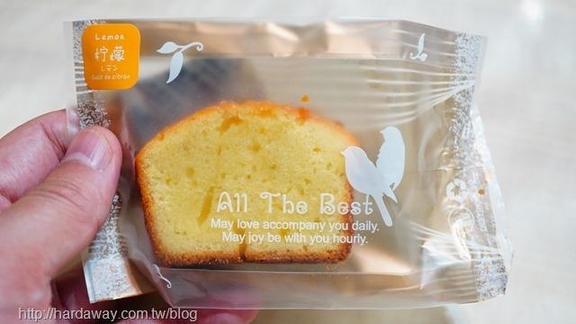 耘夢甜點工作室檸檬磅蛋糕