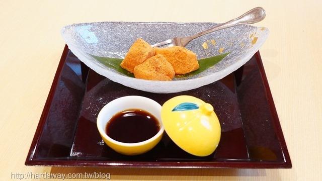莞固和食手作黑糖蕨餅