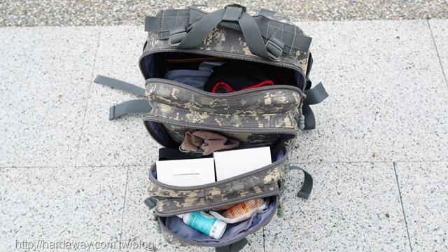 bagrun二代都會玩家軍事風格瞬開後背包收納能力