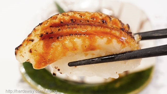 比目魚鰭邊肉握壽司
