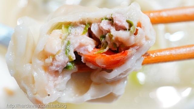 上海白菜鮮蝦餛飩味道