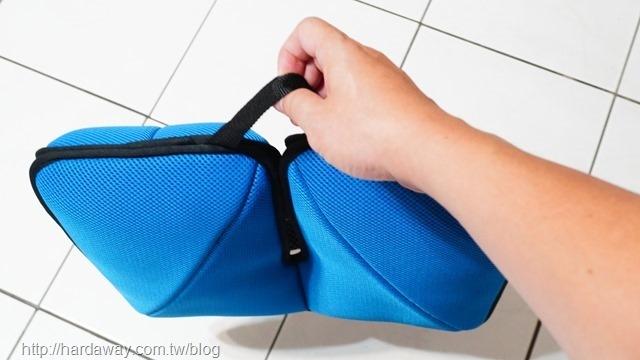 攜帶式支撐座墊組