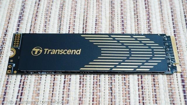 創見MTE240S 500GB M.2 2280 PCIe Gen4x4 SSD固態硬碟