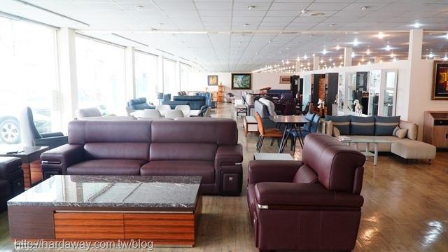 華塑家具八德店沙發