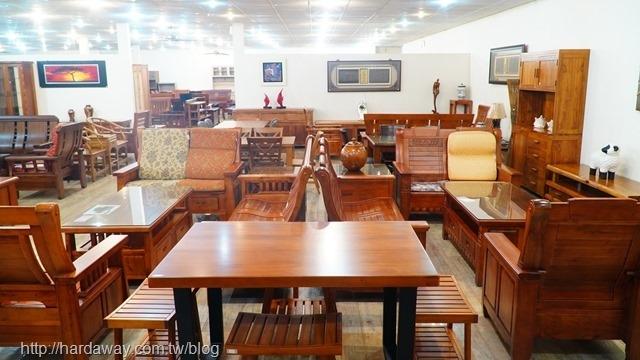 華塑家具原木製桌椅