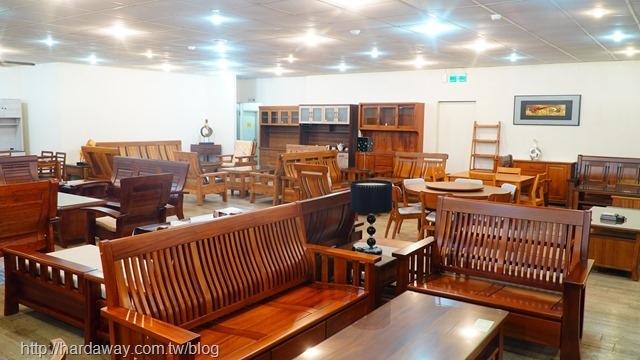 華塑家具八德店木頭製桌椅