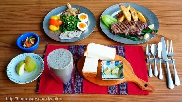 本來食藝空間民宿無菜單蔬食早午餐