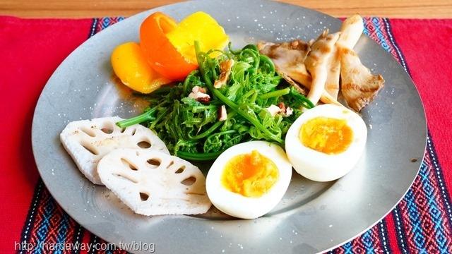 無菜單蔬食早午餐