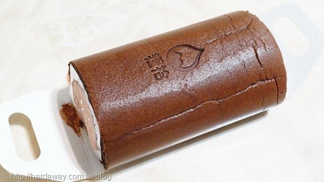 糧拾橙汁75%巧克力生乳捲
