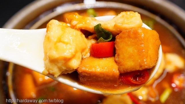 雞粒豆腐煲味道