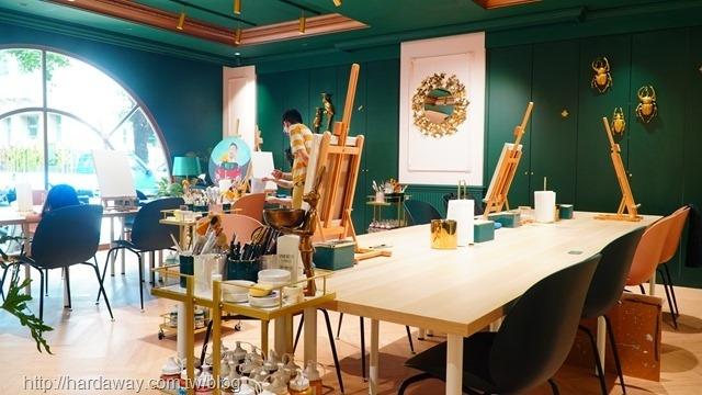 莎夏畫室壓克力畫繪畫課程
